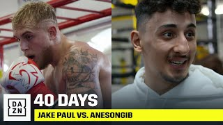 40 DAYS | Jake Paul vs. AnEsonGib