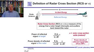 Introduction to Radar Systems – Lecture 2 – Radar Equation; Part 1