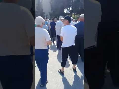 народ Избербаша встали на митинг против власти наглости ченовников