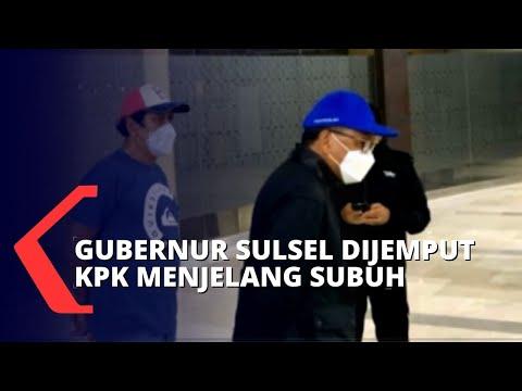 Gubernur Sulsel Diterbangkan ke Jakarta untuk Pemeriksaan Lebih Lanjut di Gedung KPK