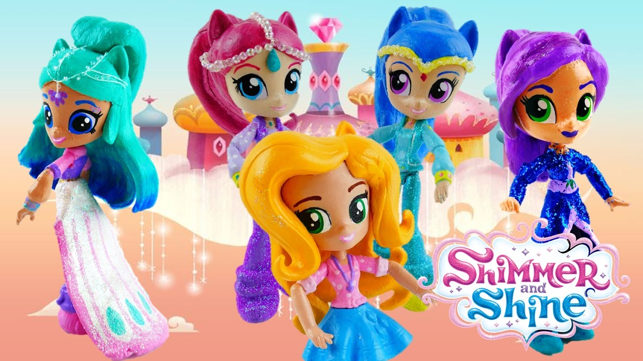 End of Year Shimmer and Shine Doll Custom Review | Evies Toy House