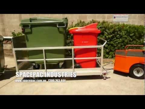 Taylor Dunn SS546-36V Towing Aluminium Multipurpose Trolleys / Trailers