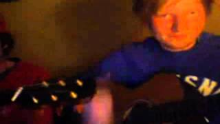 Ed Sheeran - Sofa Live On UStream