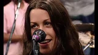 Alanis Morissette   'You Learn'  ' Head Over Feet'   TV Show   Programa Livre 1996