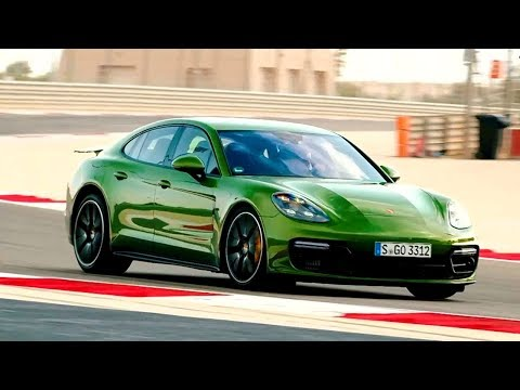 Porsche Panamera GTS тест драйв