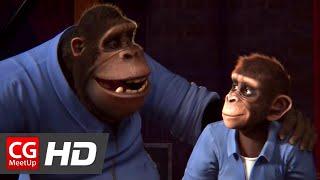 "CGI 3D Animated Short Film: ""Monkey Symphony Short Film"" by ESMA"