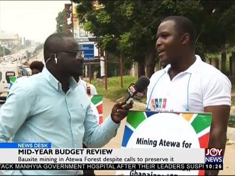 Bauxite mining in Atewa Forest despite calls to preserve it - News Desk on JoyNews (20-7-18)