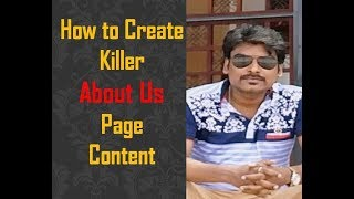 A Guide to Write Killer 'About Us' Page
