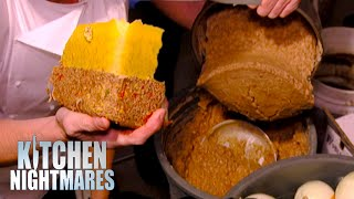 Gordon Publicly Outs Restaurant On VILE Standards | Kitchen Nightmares