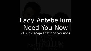 need you now male cover acapella tik tok - TH-Clip