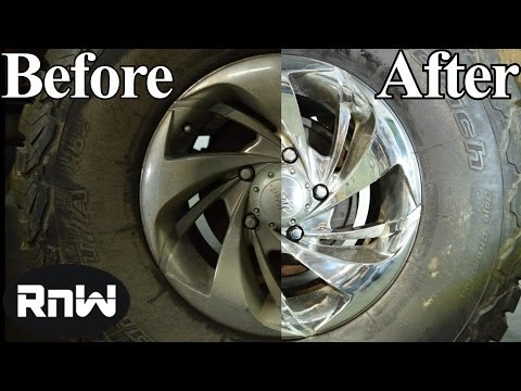 How to Clean, Remove Rust, Restore and Polish Chrome Wheels – LIKE A BOSS