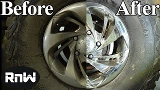 How to Clean, Remove Rust, Restore and Polish Chrome Wheels - LIKE A BOSS