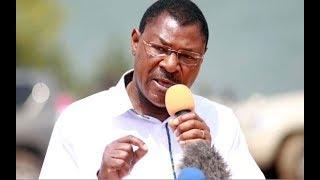 Nasa senators fire Moses Wetang'ula - VIDEO