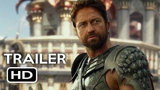 Gods of Egypt Official Trailer #1 (2016) Gerard Butler Fantasy Movie HD