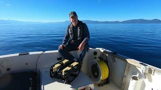 Dive to the Deepest Point in Lake Tahoe (over 500m or 1640ft in depth) [1080p60]