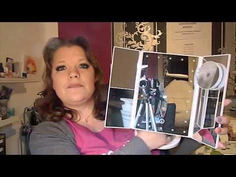 beleuchteter Kosmetikspiegel getestet von SonnisBeautyLounge