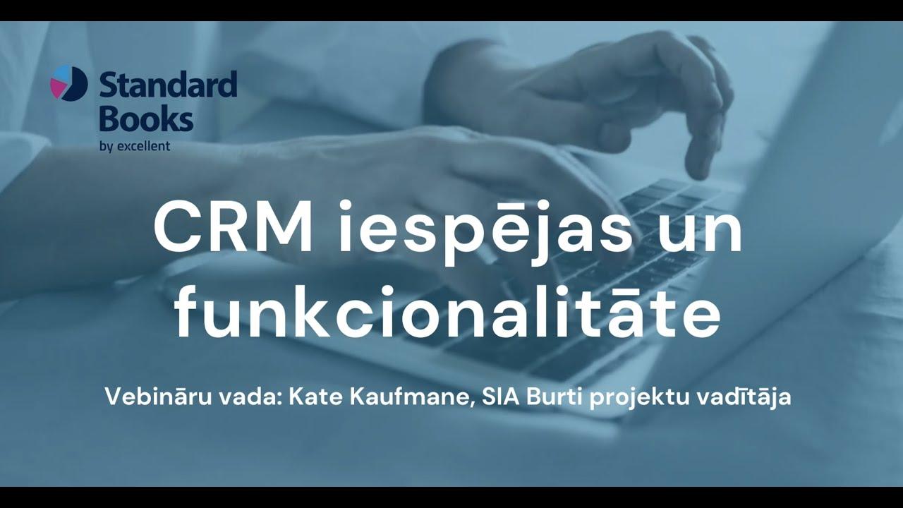 CRM iespējas Standard Books by Excellent