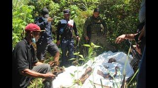 Kalansay ng taong pinaniniwalaang biktima ng pagpatay ng NPA nahukay sa Misamis Oriental