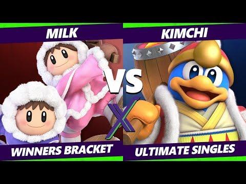 Smash Ultimate Tournament - Milk (Ice Climbers, Snake) Vs. Kimchi (Dedede) S@X 316 Winners Round 2
