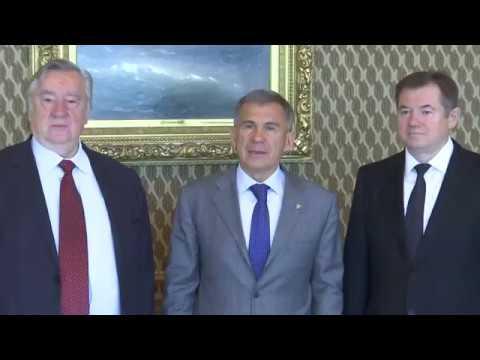 Рустам Минниханов встретился с руководителями «Изборского клуба»