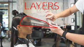 Long Layered Haircut: Long Layers In Long Hair, Hair Transformation
