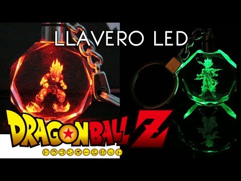 Llavero Dragon Ball Z LED