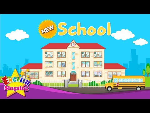 Kids vocabulary - School