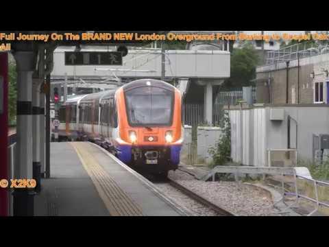Full Journey On The BRAND NEW London Overground From Barking To Gospel Oak All Stations