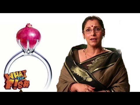 Monster Maasi On Onion Prices | Dimple Kapadia | What The Fish 2013