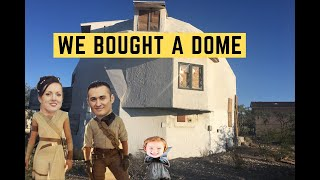 We Bought An Abandoned Geodesic Dome Home - Raw Video Footage Of Its Original Neglected Condition