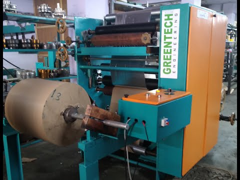 Fully Automatic Paper Plate Lamination and Slitting Machine