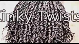 ♥Summer Protective Style! Kinky Twists