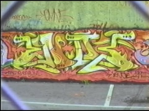 On The Go Repeat Offender Graffiti Video (1995)