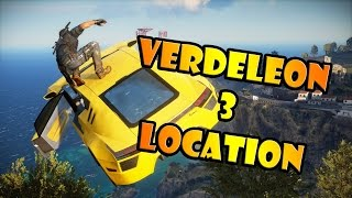 Rarest and Fastest car in JC3 - Verdeleon 3 Location