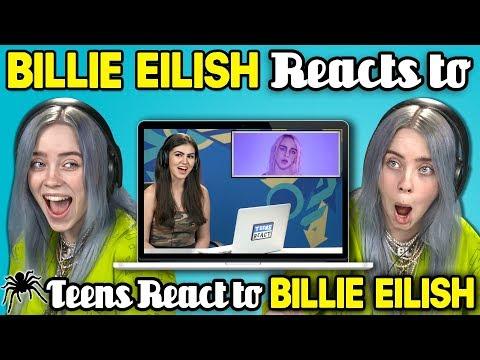 Billie Eilish Reacts To Teens React To Billie Eilish