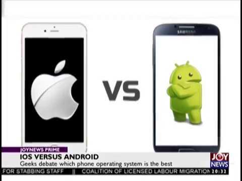 IOS Versus Andriod - Joy News Prime (6-9-18)