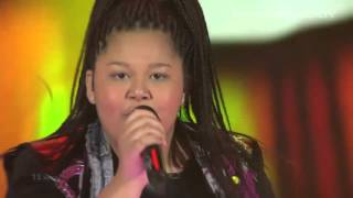 Destiny Chukunyere - Not My Soul (Malta) LIVE Junior Eurovision Song Contest 2015