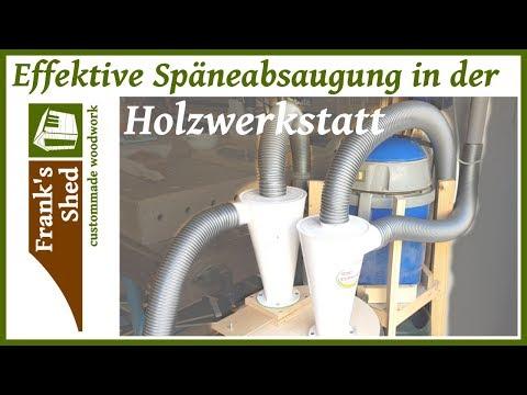 Absauganlage für Werkstatt selber bauen | DIY Absaugung für Werkstatt | Späneabsaugung Holzwerkstatt