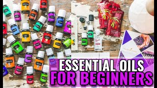 Essential Oils For Beginners | Tips & Tricks Young Living Starter Kit | Angela Lanter