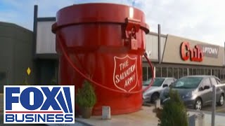 Coronavirus, coin shortage hurting The Salvation Army's Red Kettle Campaign