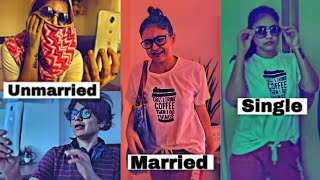 Things Unmarried Couples Vs Married Couples Vs Singles In Lockdown Do // Captain Nick