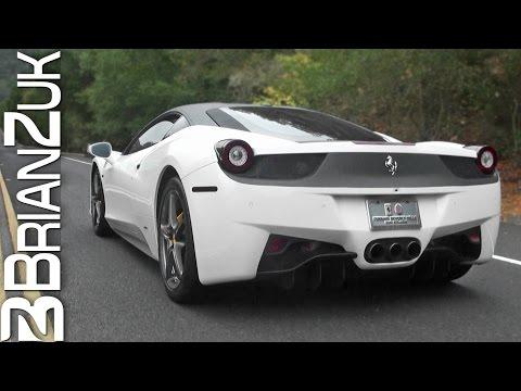 Ferrari 458 Italia with Novitec Exhaust - In Action