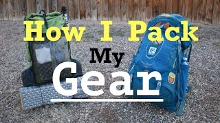 How I Pack My Gear