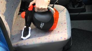 Sichler Tragbarer Dampfreiniger mit Zubehör, 1000 W