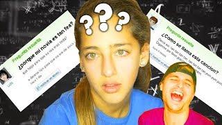 Mi Hermana (de 10 años) responde PREGUNTAS RIDÍCULAS de Yahoo Answers