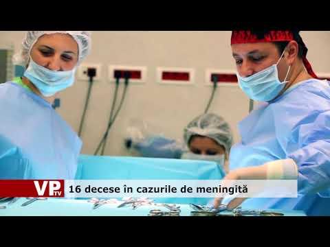 16 decese în cazurile de meningită
