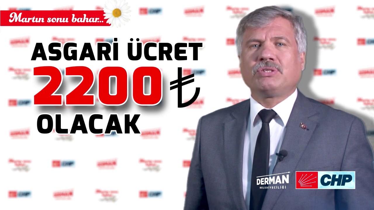 Kemal Bütüner: Asgari ücret 2.200 lira olacak