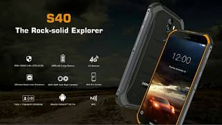 Четырехъядерный прочный смартфон  DOOGEE S40 от компании Интернет-магазин-Алигал-(Любой товар по доступной цене) - видео