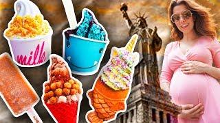 ¡MIS ANTOJOS DEL EMBARAZO! - LAS MEJORES HELADERÍAS DE NEW YORK | DACOSTA'S BAKERY