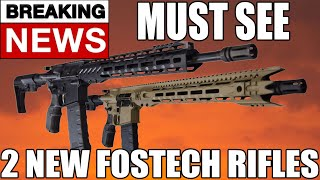 Fostech Eagle Fighter Lite FDE 5.56 AR15 Rifle with Echo Trigger - Flat Dark Earth Cerakote Finish